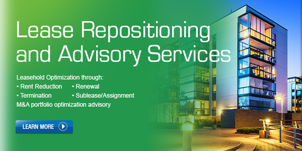 Lease Repositioning and Advisory Services